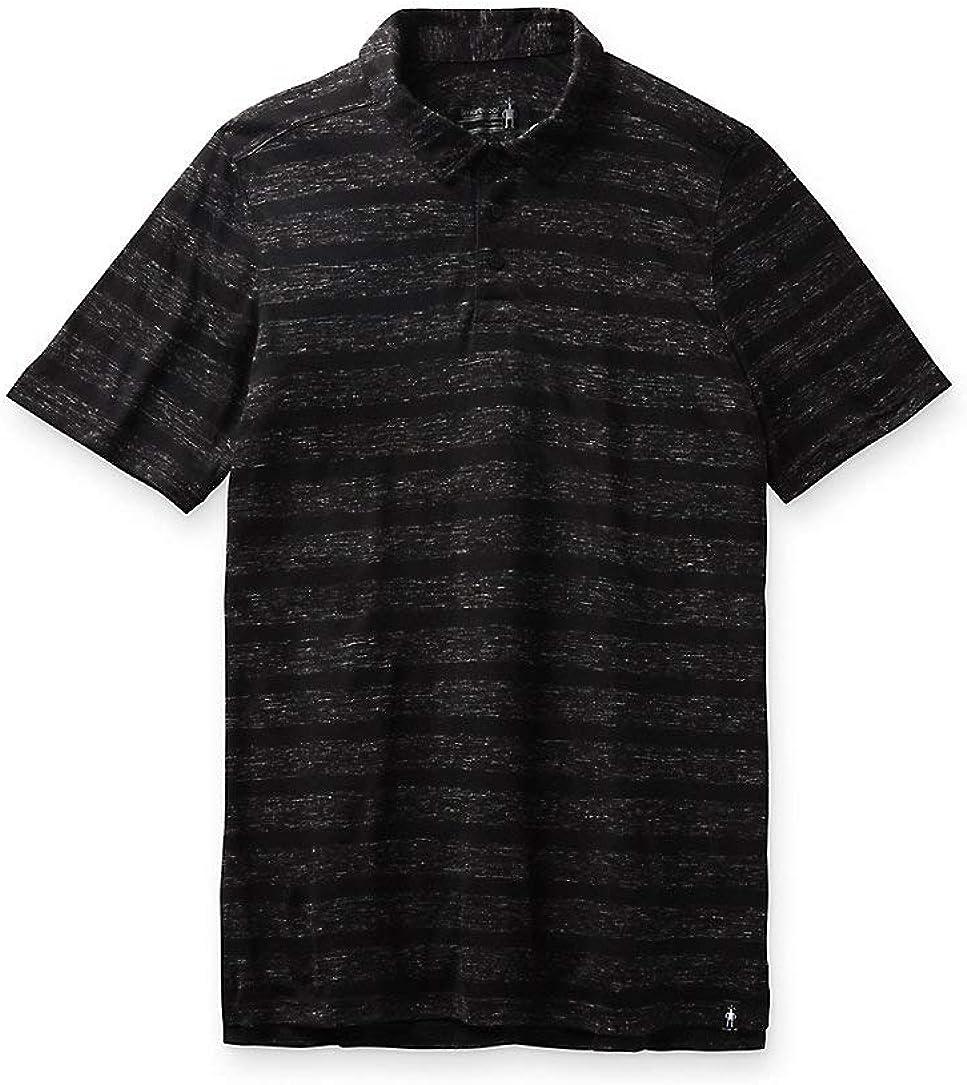 Smartwool Men's Fresno Mall Everyday Exploration Polo Fit Regular Blac Nashville-Davidson Mall Shirt