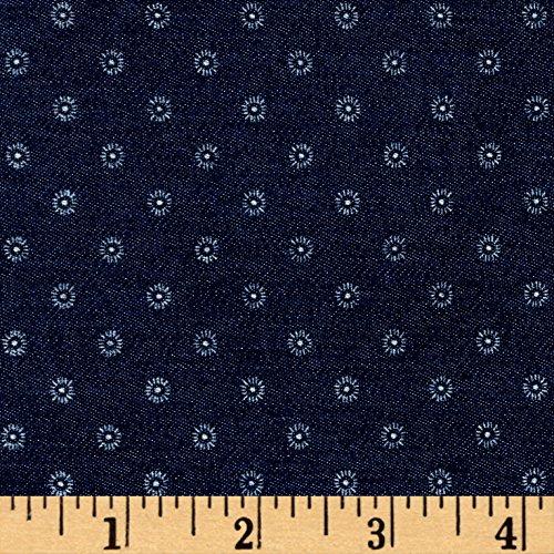 White Stretch Denim Fabric - 6