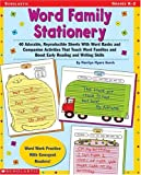 Word Family Stationary, Marilyn Myers Burch, 0439129737