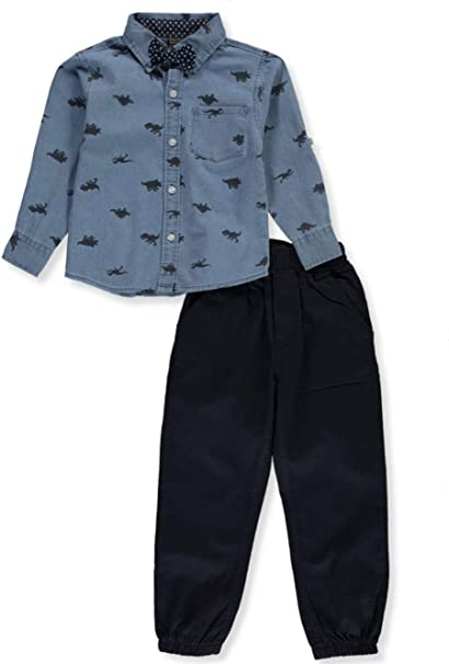 Quad Seven Boys 2-Piece Pants Set Outfit