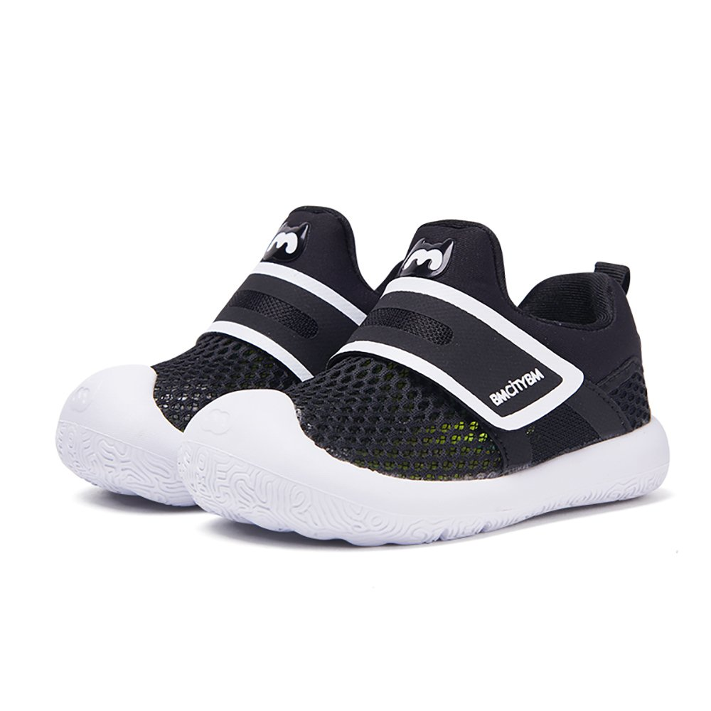 BMCITYBM Toddler Shoes Black Boy Walking Shoes Size 9 Baby Shoes Soft Bottom