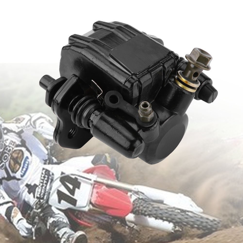 KIMISS Motorrad Scheibenbremse Bump Sattel Assembly f/ür 50cc 70cc 90cc 110cc 125cc ATV Quad Motocross