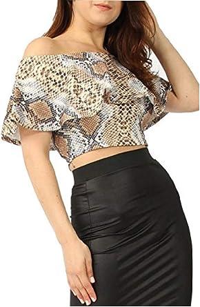 Momo&Ayat Fashions - Camisas - Animal Print - para mujer: Amazon.es: Ropa y accesorios