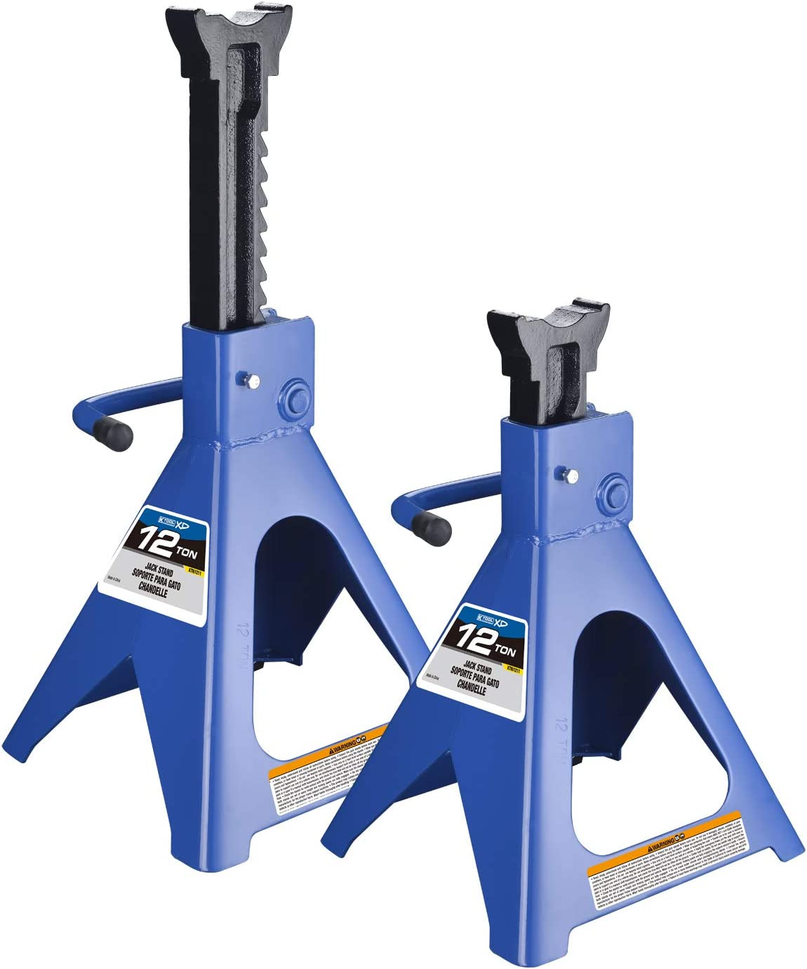K Tool 61211 12 Ton Jack Stands