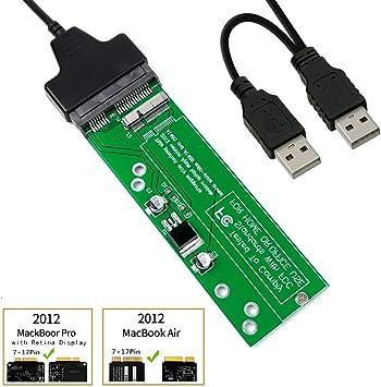 SHINESTAR SSD a SATA o USB Adaptador de Tarjeta para (Solo año ...