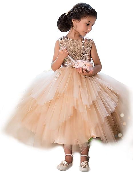 f97f69903 YOUTODRESS - Vestido con Lentejuelas para Niñas
