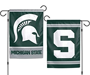 NCAA Michigan State Spartans 12 x 18 inch 2-Sided Garden Flag