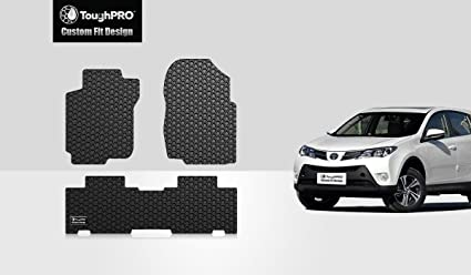 Image Unavailable. Image not available for. Color: ToughPRO Toyota RAV4 Floor Mats - All Weather ...