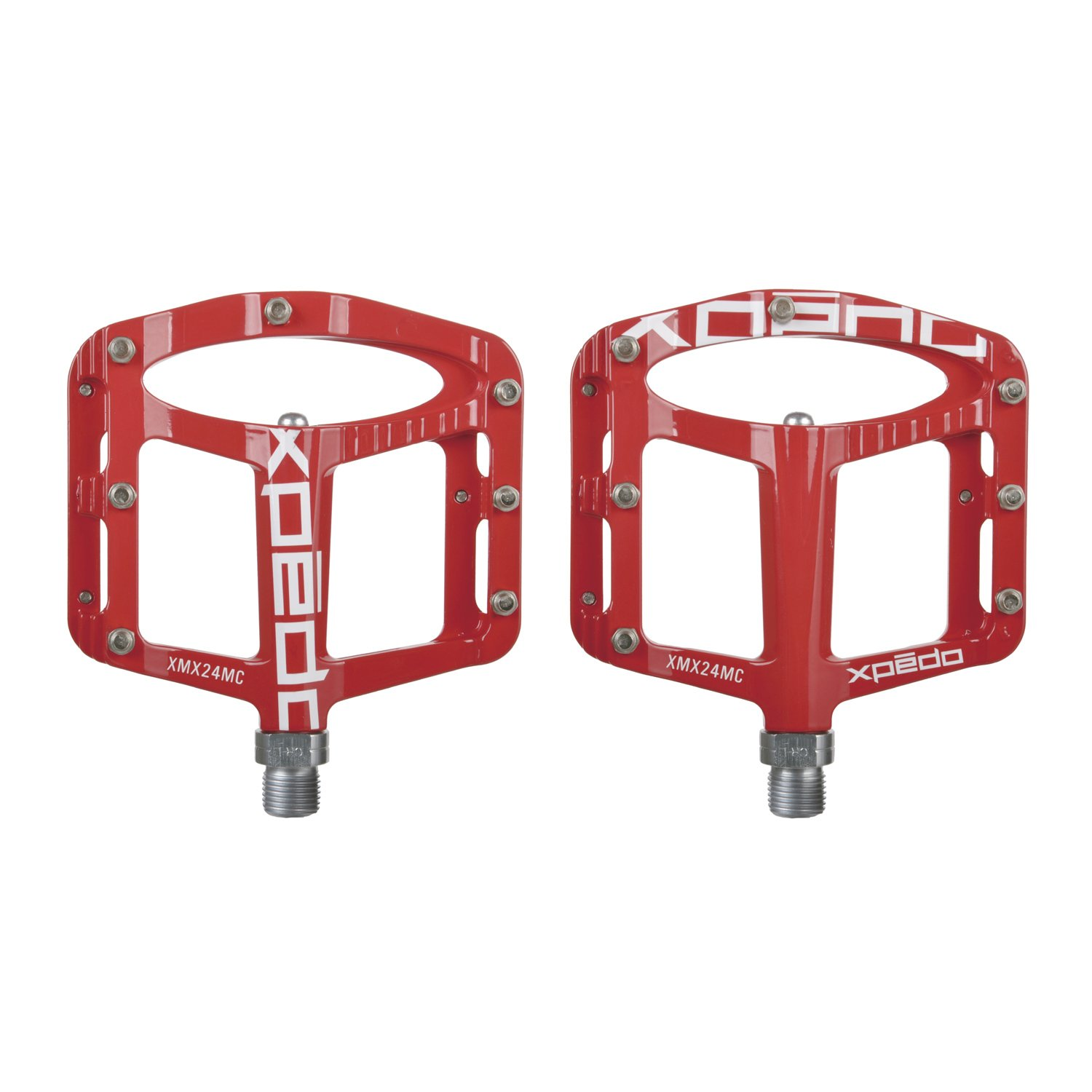 Xpedo Spry Platform Pedal Red by Xpedo