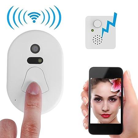 2 4g Rf Wireless Ring Doorbell Smart Wifi Door Viewer Visual Camera