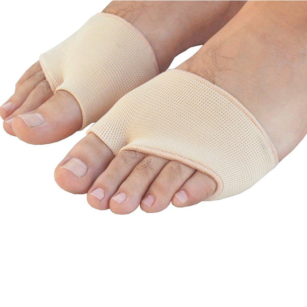 Couleur de la Peau Taille S Healifty Coussin davant-pied en Gel Pads Avant-Pieds pour Soulagement de la Douleur 1 paire