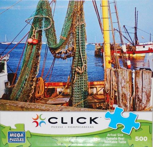 CLICK PUZZLE: Fishing Nets, Cape Cod, MA 500 Piece Puzzle