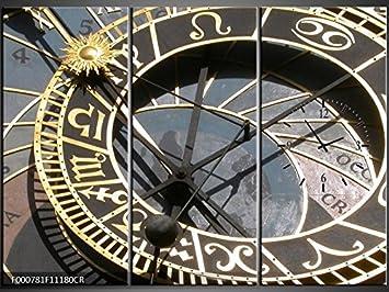 Orologi Da Parete In Tela : Tlg tela foto orologio da parete orologio adesivo murale su tela