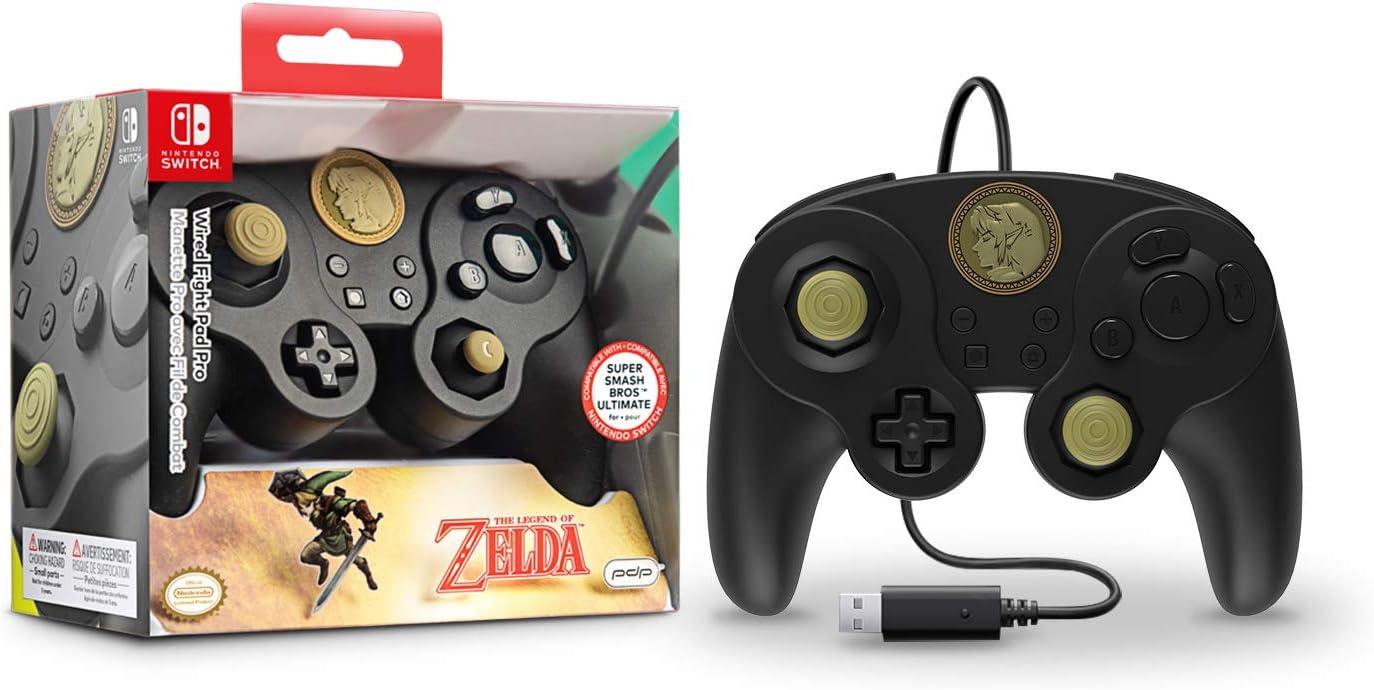 Manette filaire - Nintendo Switch - Link Super Smash Bros ...