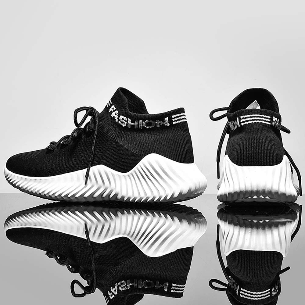 Mens Trainers Fashion Sneakers Running Sport Casual Mesh Lightweight Breathable Walking Shoes