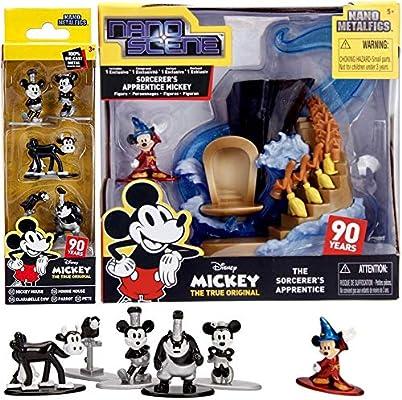 Nano Metalfigs Nano Scene Mickey Sorcerers Apprentice