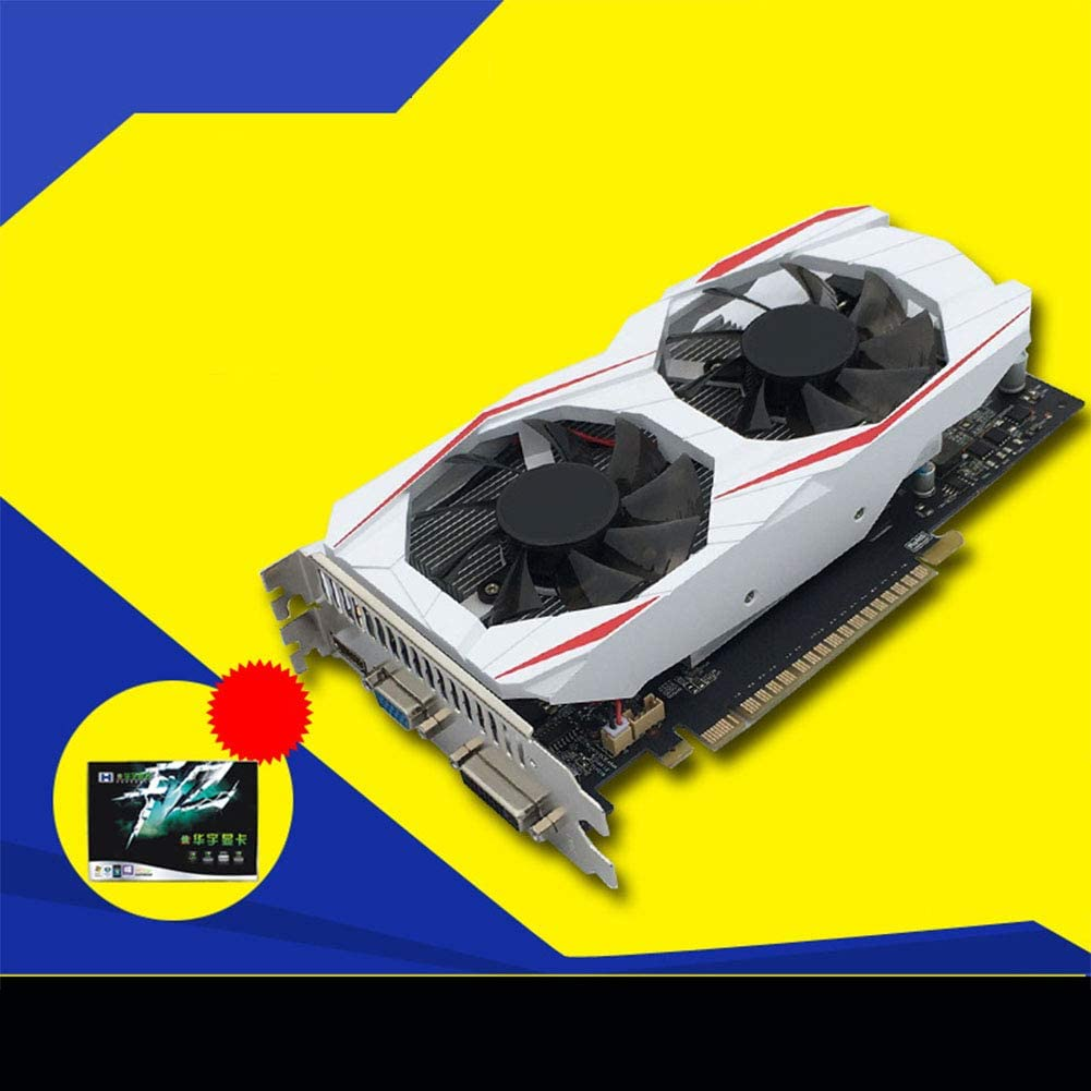 SSEDEW Independent GTX750Ti 2GB DDR5 Game Graphics Cards GTS450 PCI Express 2.0 for Desktop