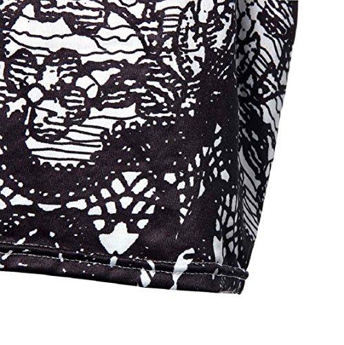 Sannysis Blumen-Weinlese-Druck Elegante Bleistiftkleid Ärmelloses Kleid