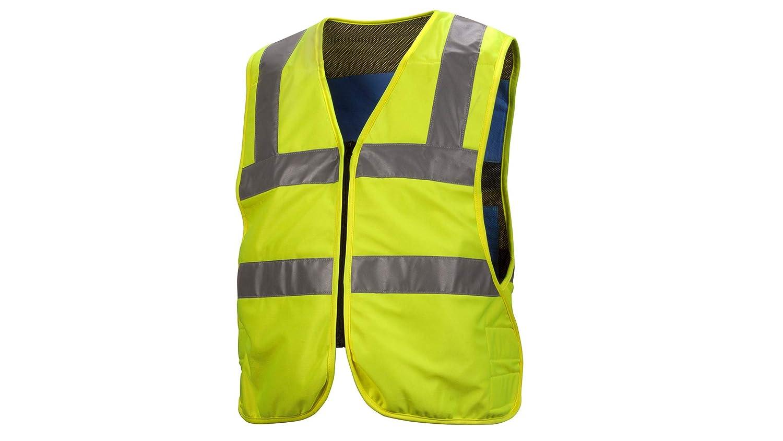 Pyramex Safety CV200M Cooling Vest, Nylon, Medium, Gray