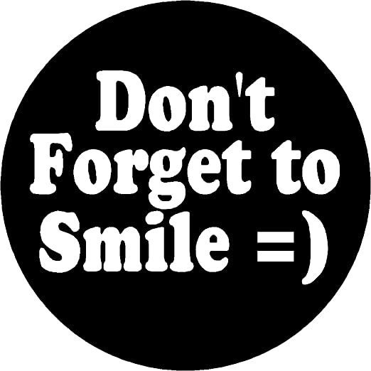 com proverb saying quote don t forget to smile magnet