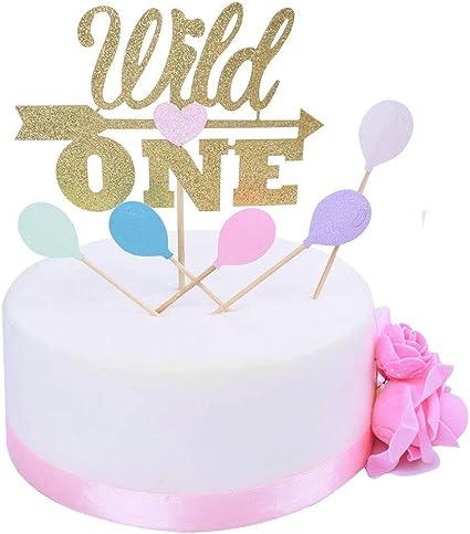 Boho Birthday Wild One Cake Topper 1st Birthday Tribal Baby Shower