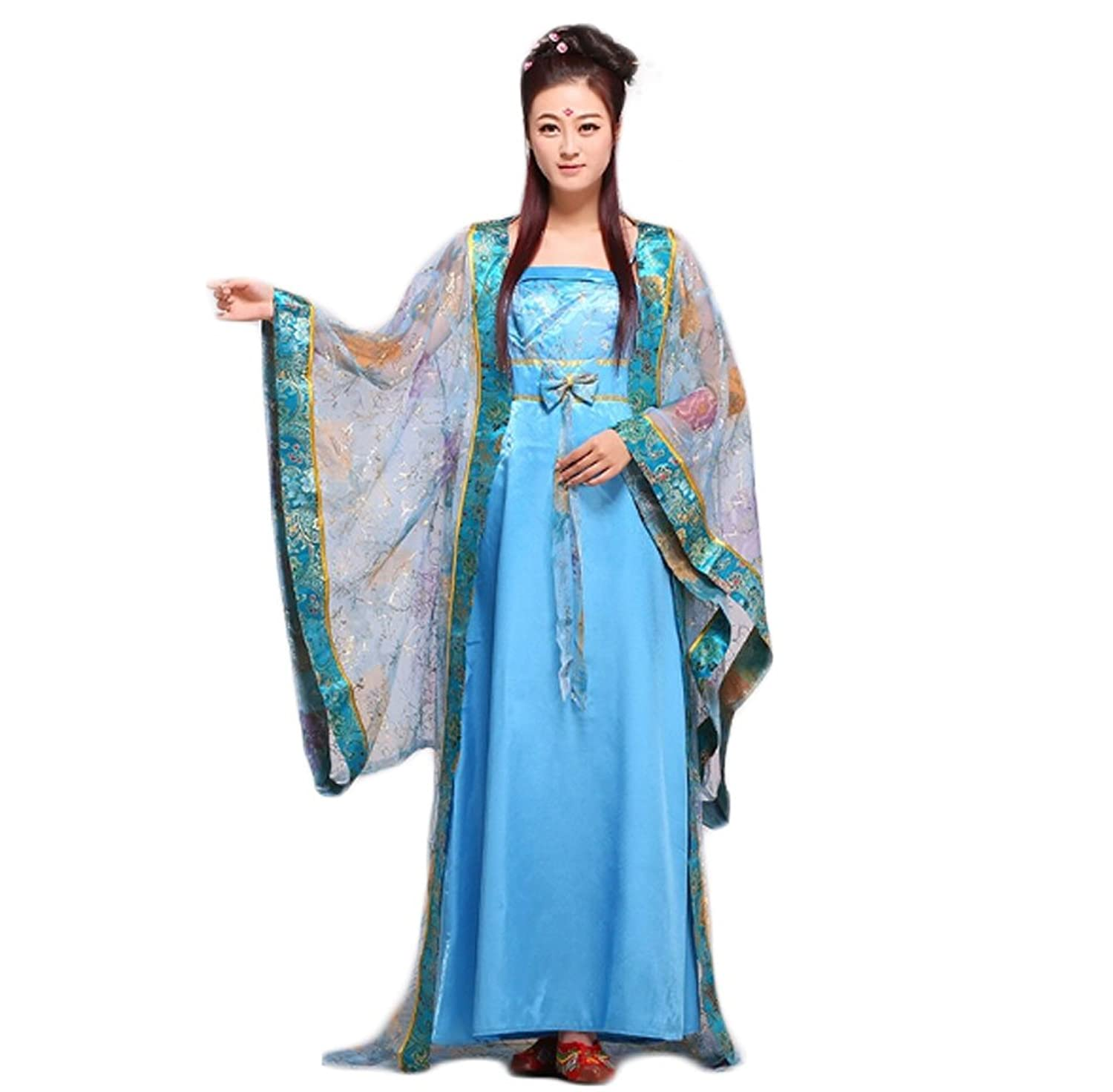 Amazon.com: COCONEEN Chinese Traditional Costumes Ancient Chinese ...
