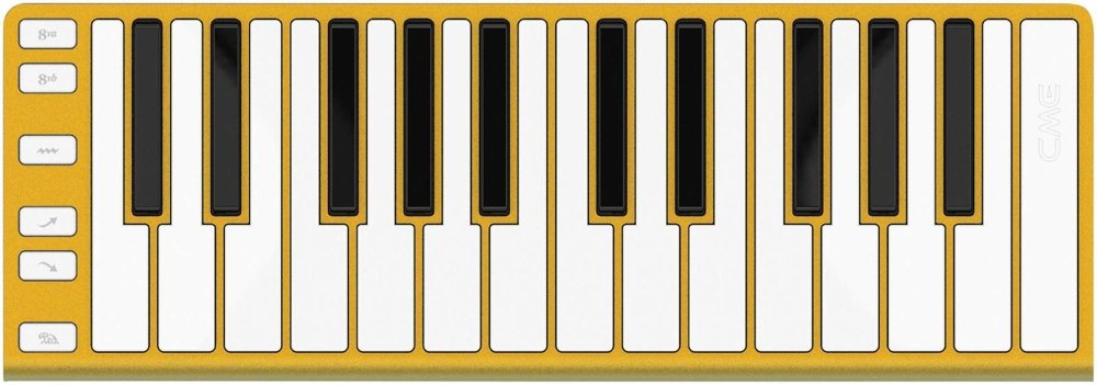 Cme Midi Controller (XKEY25GOLD)