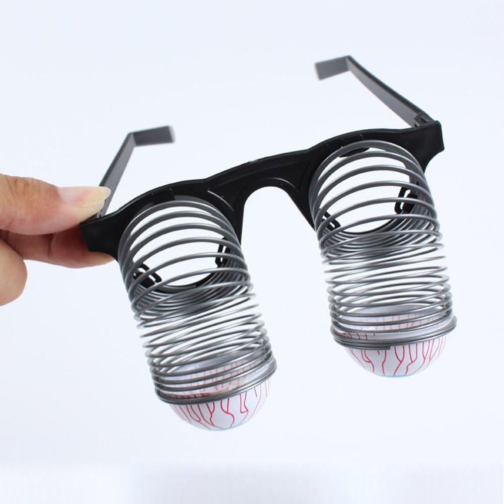 NATEE Augapfel Brille Horror Schock Pop Augen Fr/ühling Augapfel Brille Spielzeug Halloween Karneval Party Kniffliges Spielzeug