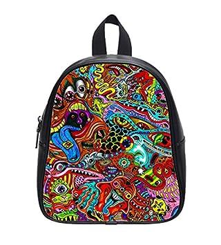 Amazon.com: Trippy psicodélico Arte Dibujos Custom Kids ...