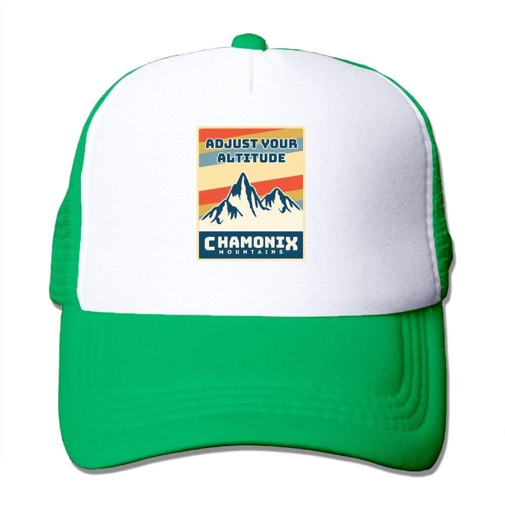 HATS NEW Mens//Womens Chamonix Mountains Casual Mesh Hat Hat Yellow