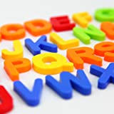 MAGTIMES Educational Toys Magnetic Letters and numbers for educating child in fun -Pioneering baby's brain and innovative-80 PCS in a box