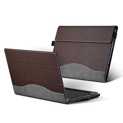 Hoverxe Lenovo Yoga Book - Funda de Piel para portátil ...