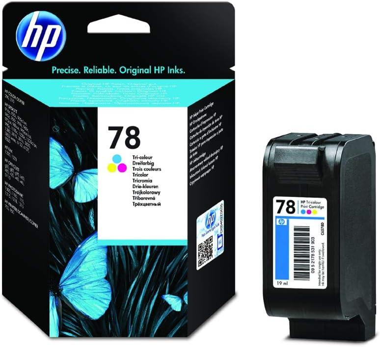 Hp C6578d Farbe Original Druckerpatrone Für Hp Deskjet Hp Officejet Hp Psc Bürobedarf Schreibwaren