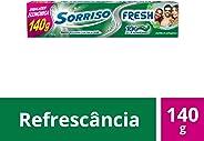 Creme Dental Sorriso Fresh Hortelã Explosion 140g