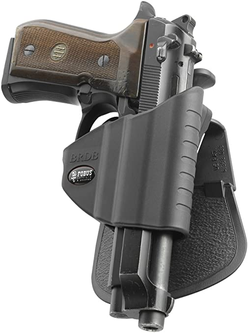 Tactical Gun Conceal Carry Polymer Handcuff Pouch-Holster For Hunting Black NEW