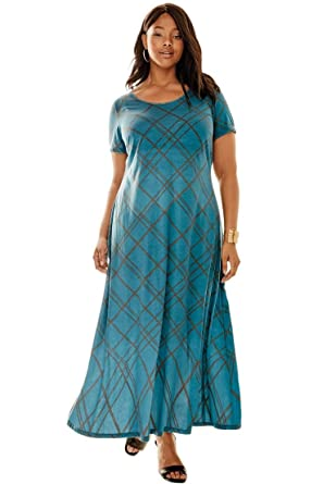 Jessica London Women's Plus Size Petite Maxi Dress at Amazon ...