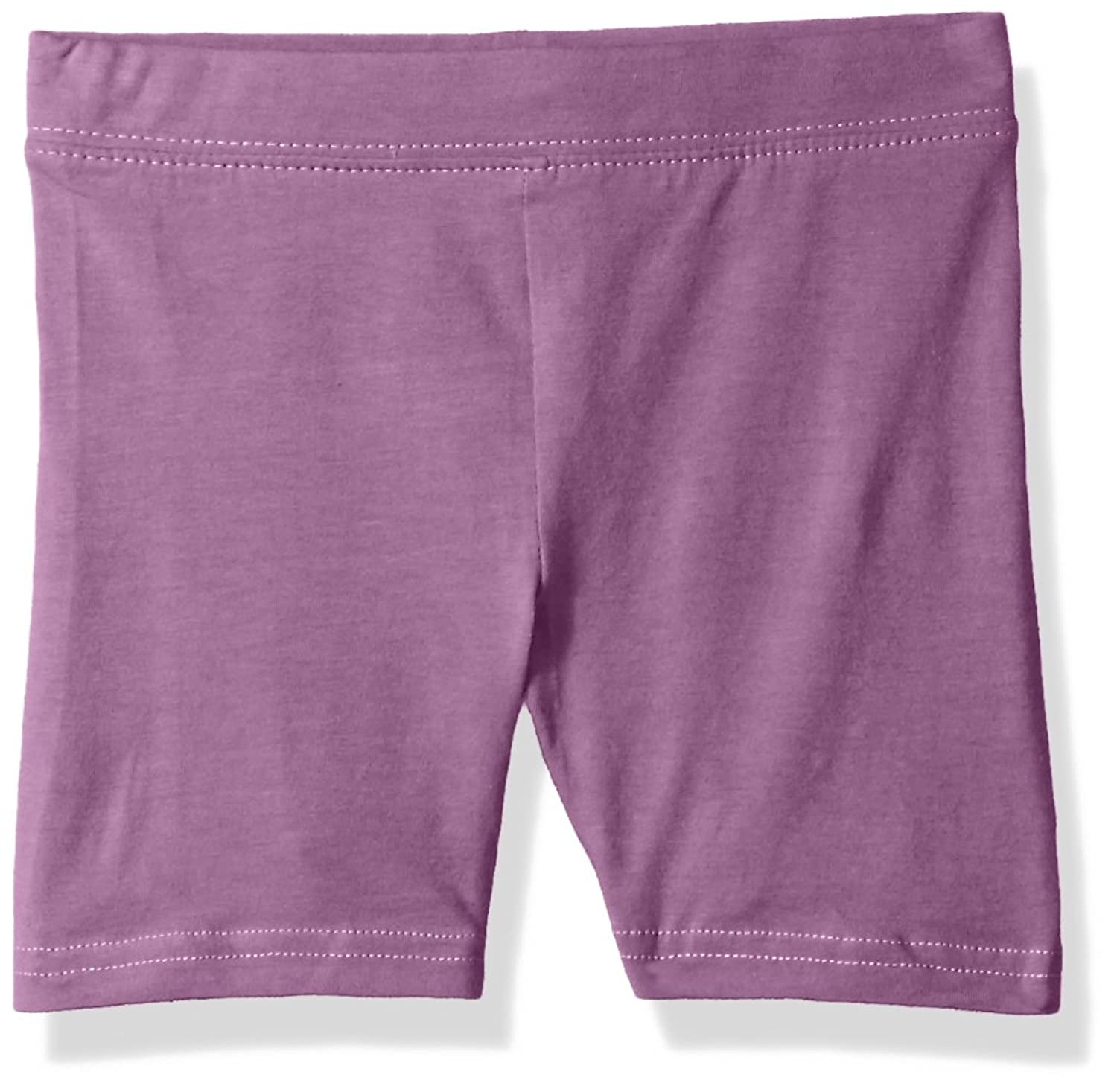 3180e312051c7 Clementine Apparel Big Toddler Girls Soft Stretch Athletic Pant Shorts