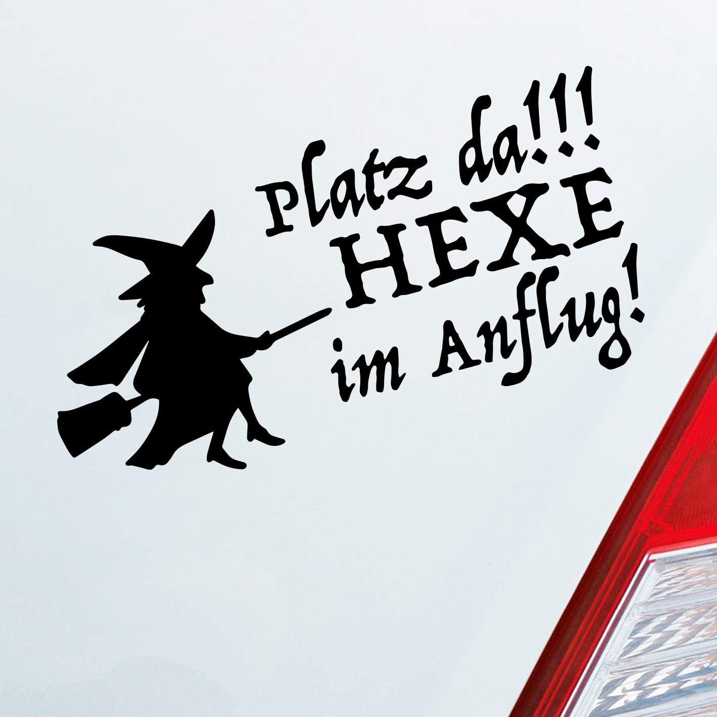 Auto Aufkleber In Deiner Wunschfarbe Platz Da Hexe Im Anflug Girl Dub Oem Jdm 10x20 Cm Autoaufkleber Sticker Auto