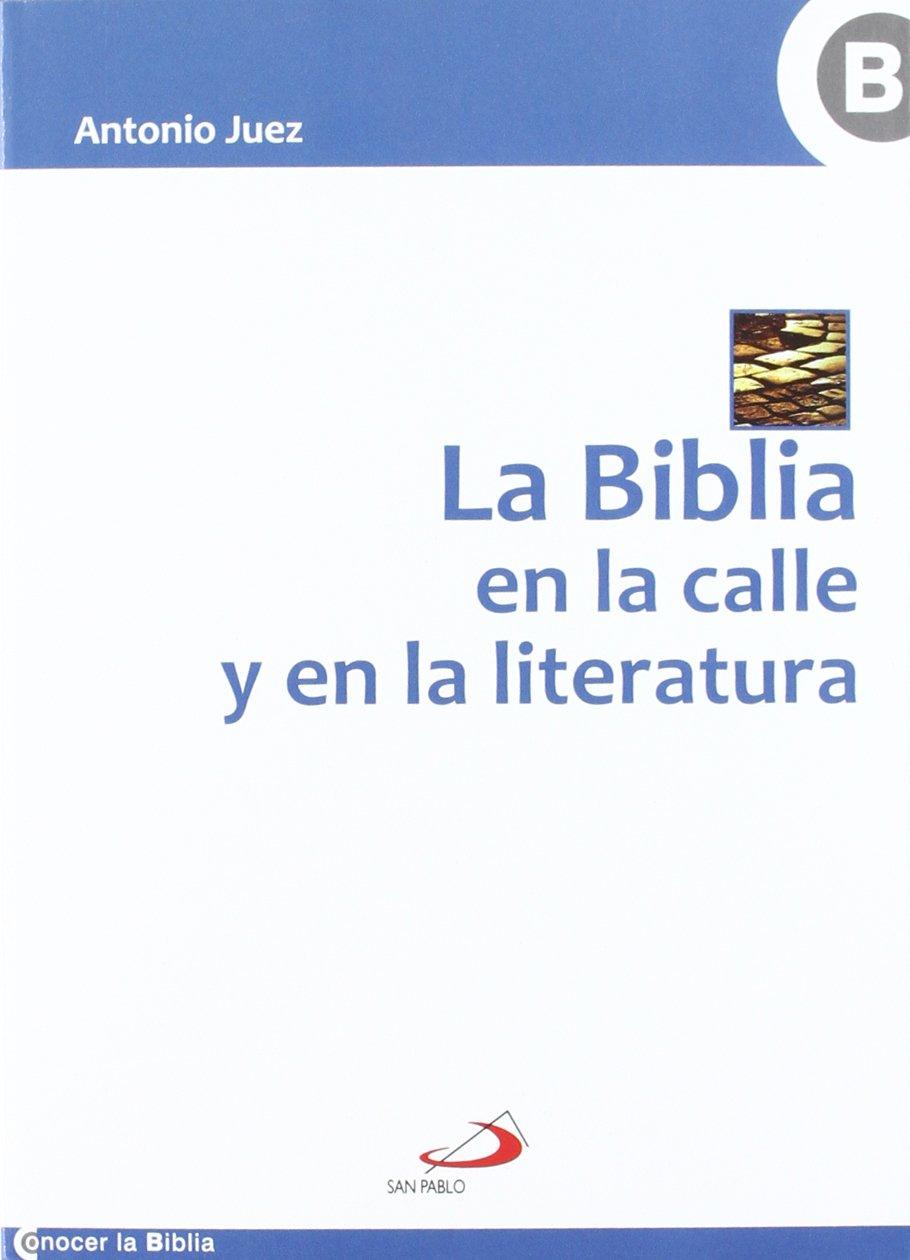 La Biblia en la calle y en la literatura Conocer la Biblia: Amazon ...