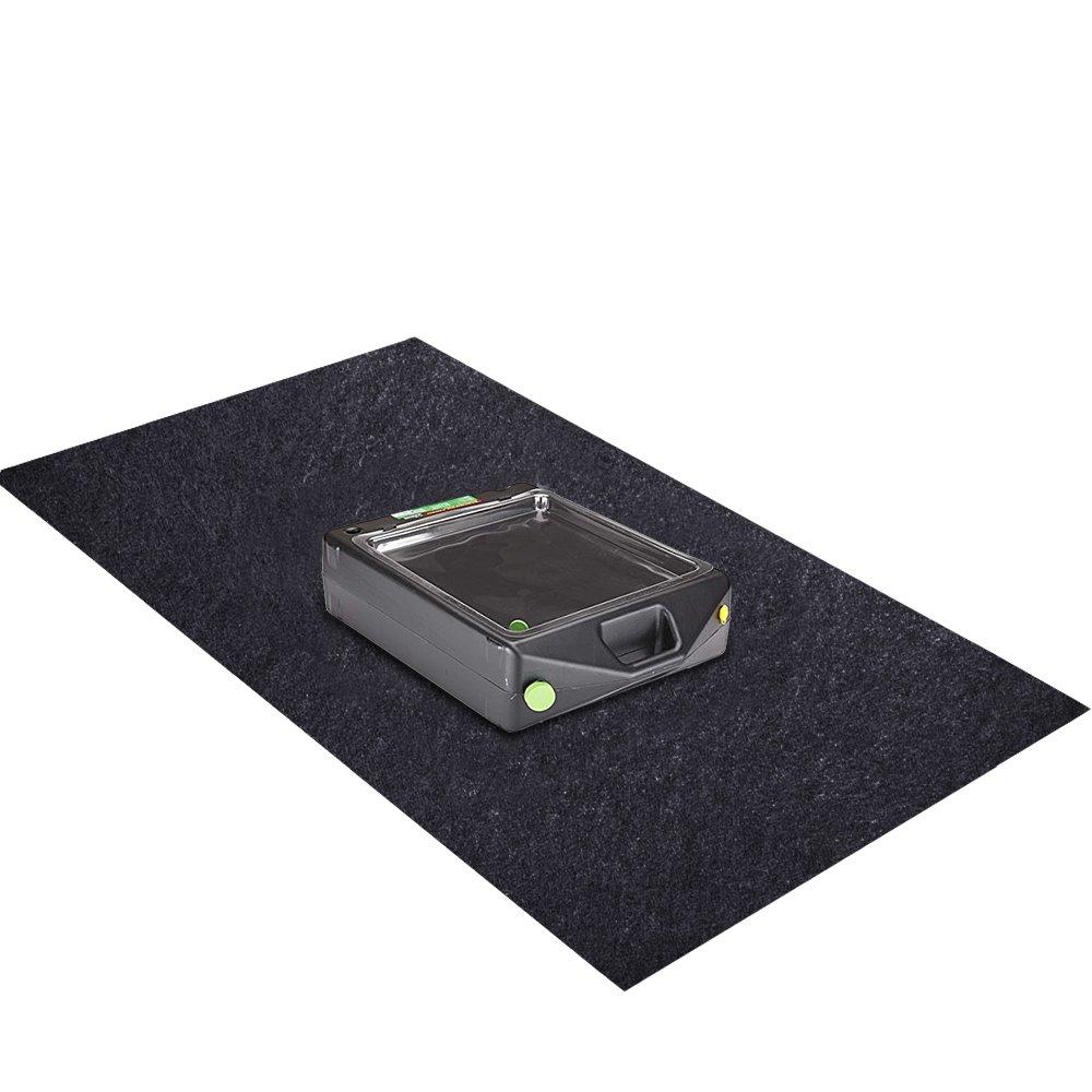 Oil Spill Mat (36'x 48'), Premium Absorbent Garage Floor Oil Mat – Reusable – Oil Pad Contains Liquids, Protects Garage Floor Surface (Large) FARROW