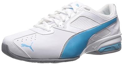 e4cddf01838 PUMA Women s Tazon 6 White Blue Atoll Sneaker 6 B ...