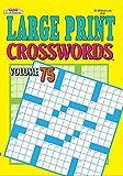 Large Print Crosswords Puzzle Book - Volume 75