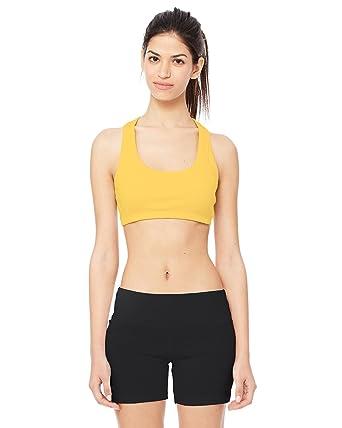 e5ab019f82052 Alo Sport W2022 Ladies  Sports Bra Nylon   Spandex  Amazon.co.uk  Clothing