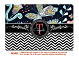 decalrus Protective decal for the Lenovo ThinkPad Yoga 370 (13.3'' Screen) laptop with customized monogram LEtnkpadYoga370-Monogram38