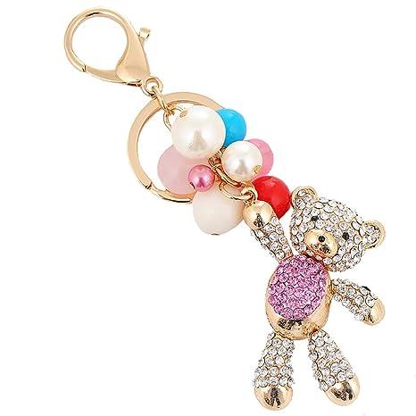 Llavero Moto,Goldfish Crystal Keychain Animal Llavero Bolsa ...