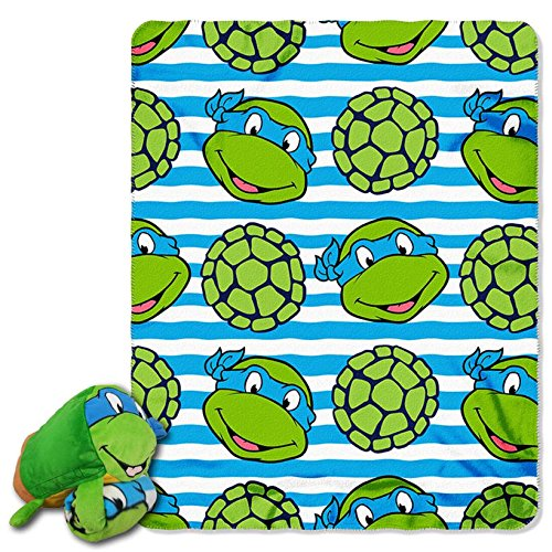 ninja turtle blanket pillow - 6