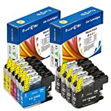 PrintOxe™ Compatible 10 Cartridges for LC 101XL / LC 103XL ( LC 103 & 101 ) Non OEM; 4 Black, 2 Cyan, 2 Magenta, & 2 Yellow for use in Brother Printers: DCP J152W & MFC models J245 , J285DW , J4310DW , J4410DW , J450DW , J4510DW , J4610DW , J470DW , J4710DW , J475DW , J650DW , J6520DW , J6720DW , J6920DW , J870DW , & J875DW