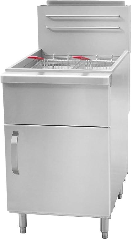 Freidora de gas de 40 litros / 45 kW.: Amazon.es: Grandes electrodomésticos
