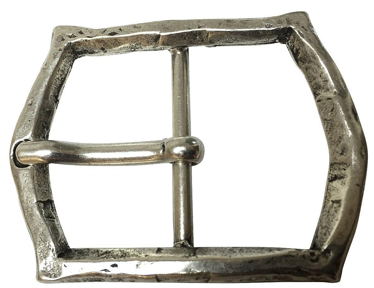 Buckle Wechselschlie/ße G/ürtelschlie/ße 40mm Massiv Brazil Lederwaren G/ürtelschnalle Window 4,0 cm F/ür Wechselg/ürtel bis zu 4cm Breite
