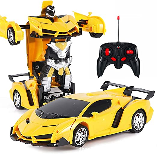 1:18 Rc Transformer Car 2 in 1 RC robots Transformation Robots Models Remote